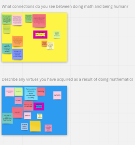 Shows two frames of an Online Whiteboard